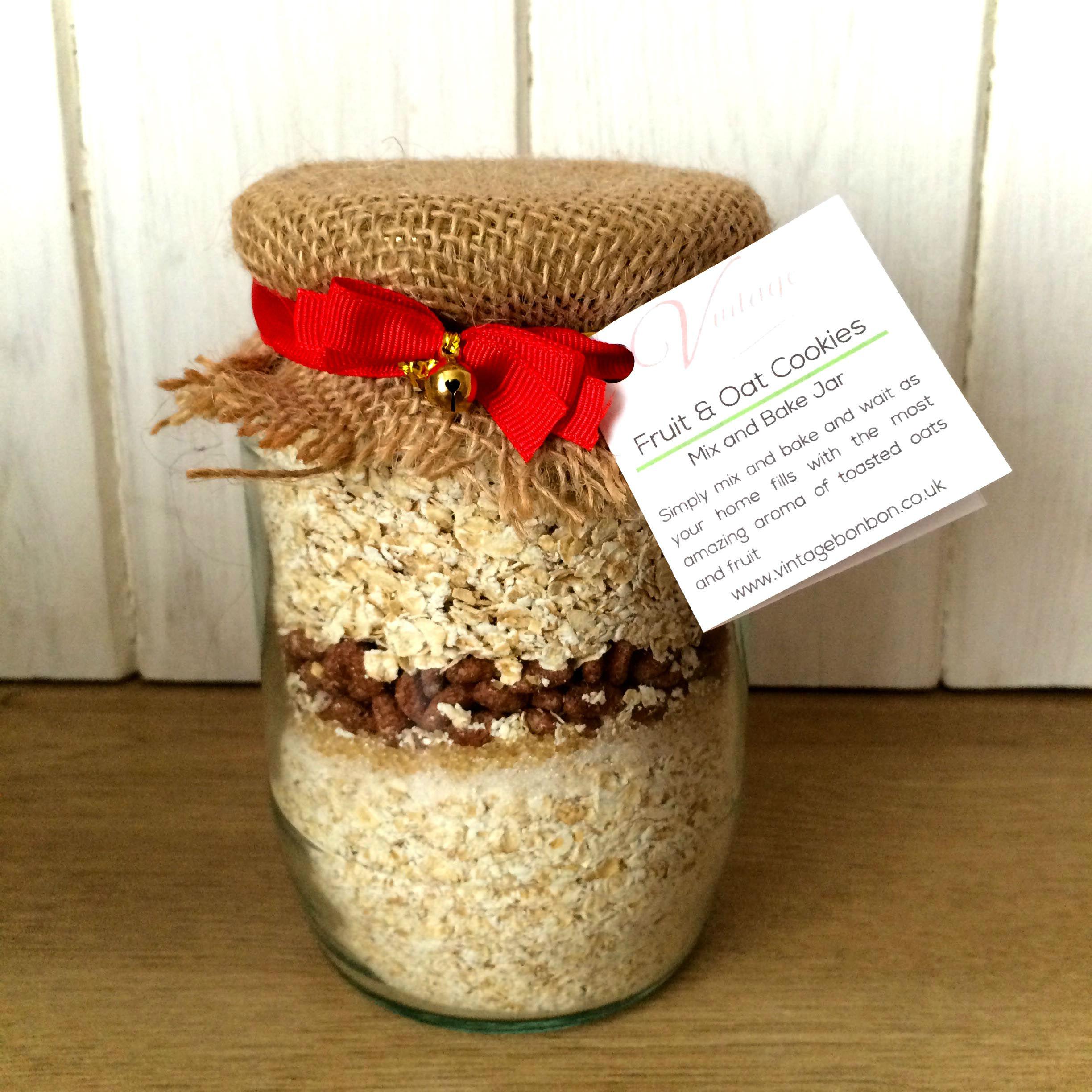 Cake Mix In A Jar Gift Recipe Uk