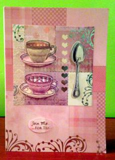 Join me for Tea card